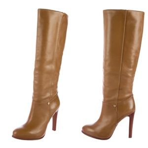 Tory Burch Kasey Leather High Heeled Boots
